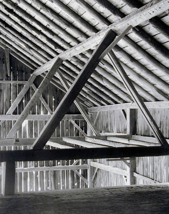 image of 'Barn, Framing from Loft'