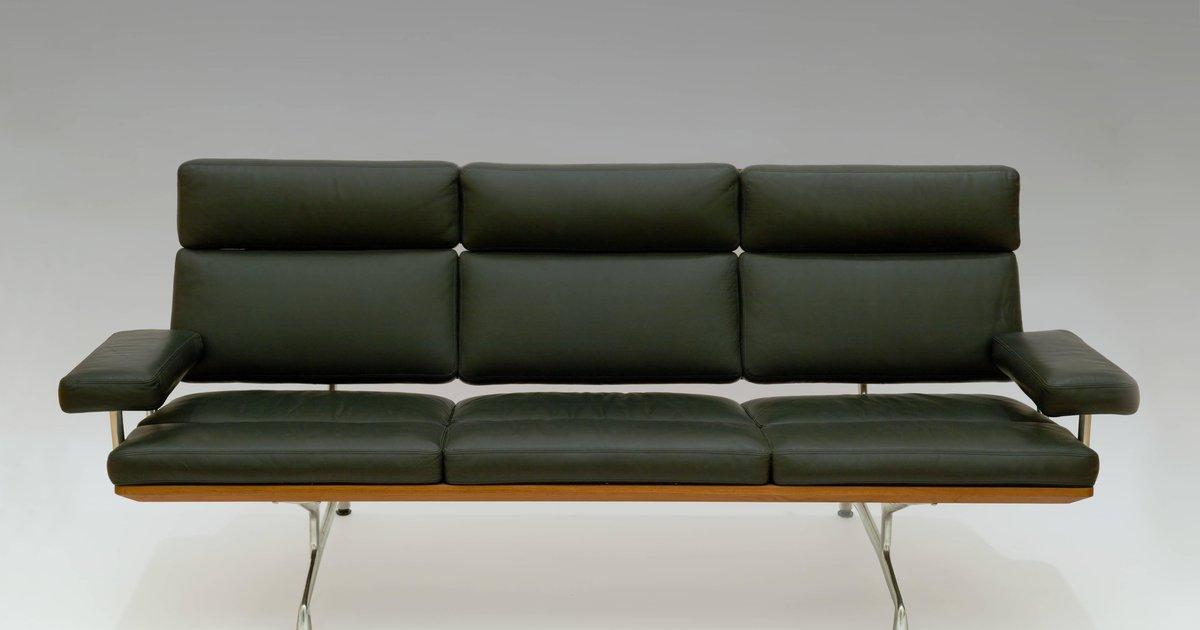 Charles And Ray Eames Soft Pad Sofa 1984 183 Sfmoma