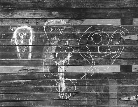 Freaky Faces Graffiti (Masks Graffiti), San Francisco