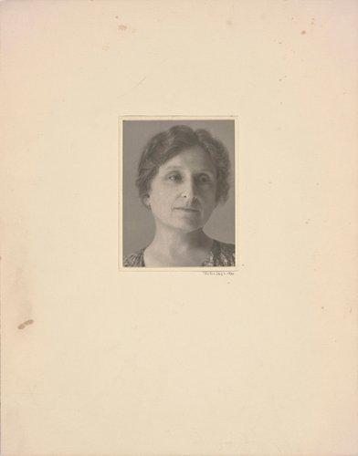 Postcard Self-Portrait, Black Mountain (II)