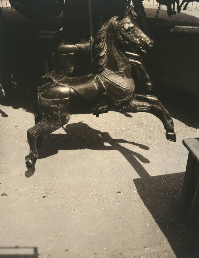 image of 'Untitled [Carousel horse], from Banalité'