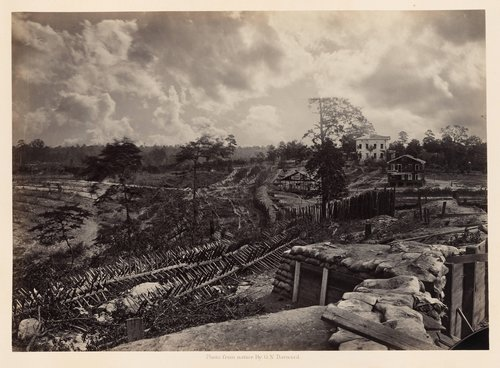 Rebel Works in Front of Atlanta, Georgia, No. 1, from Photographic Views of Sherman's Campaign