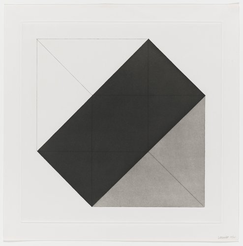 Forms Derived from a Cube, Plate #13