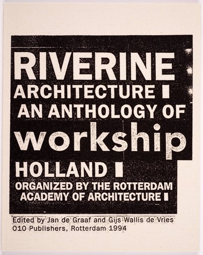 Riverine Architecture Catalogue
