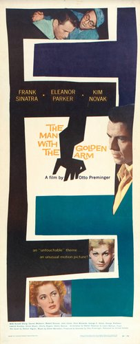 The Man with the Golden Arm poster
