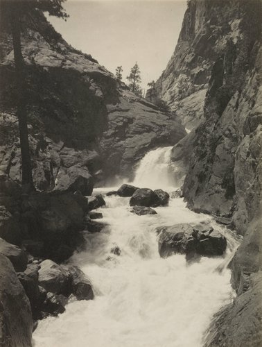 Roaring River Falls, from the portfolio Parmelian Prints of the High Sierras