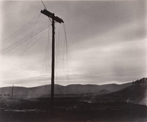 Power Lines Cut, from the series Death of a Valley