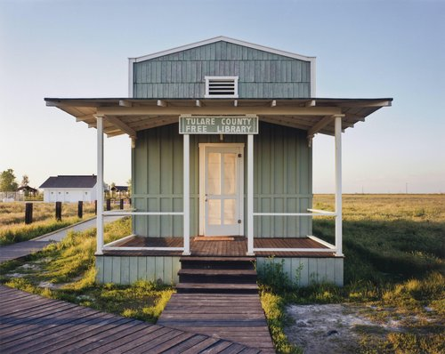 Library built by ex-slaves, Allensworth, California