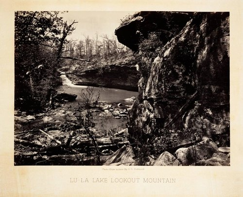 Lu-La Lake, Lookout Mountain, from Photographic Views of Sherman's Campaign