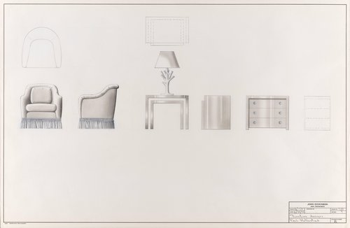 Furniture designs for Paul Hatlestad