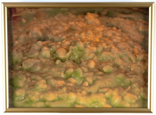 Untitled [crusty green topping], from the series British Food