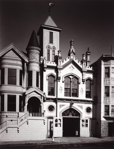 Old San Francisco Firehouse, California Street