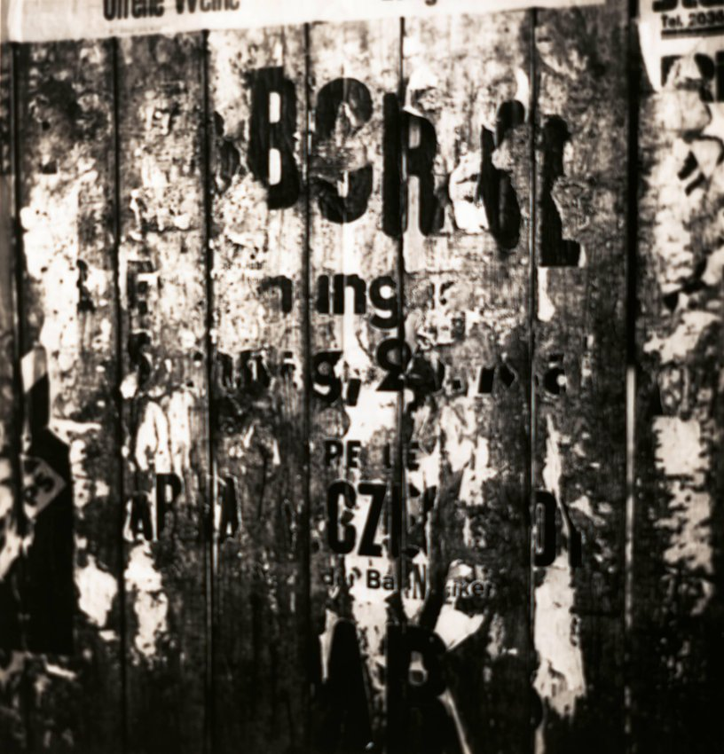 image of 'Untitled [Tattered posters]'