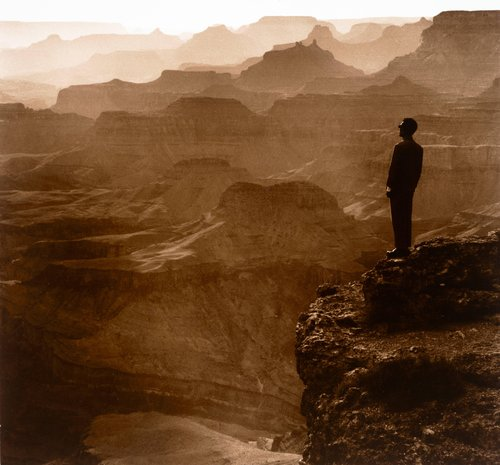 Grand Canyon, Arizona from East Meets West a.k.a. The Expeditionary Self-Portrait Series: 1979-1989