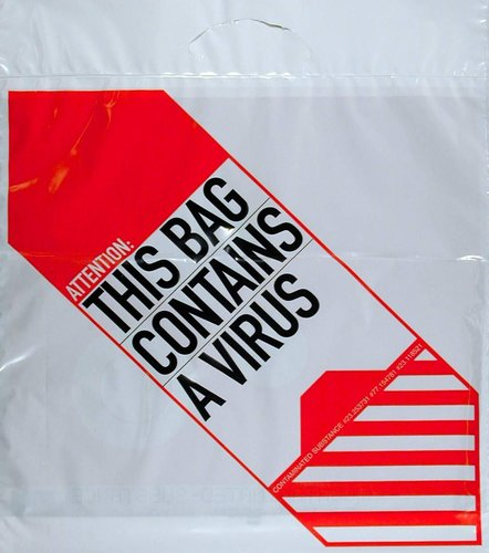 Bezet Bag (Virus/This Bag Contains A Virus)