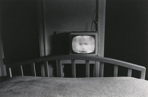 T.V. in hotel room—Galax, Virginia, from the portfolio 15 Photographs