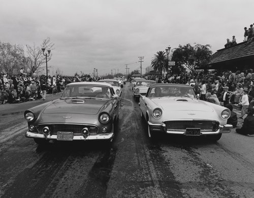 Thunderbird car show, from the portfolio Leisure
