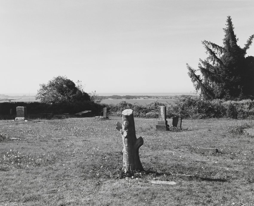 image of 'A Cemetery, Bandon, Oregon'