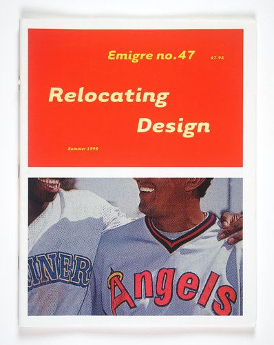 Emigre magazine, no. 47 (Relocating Design)