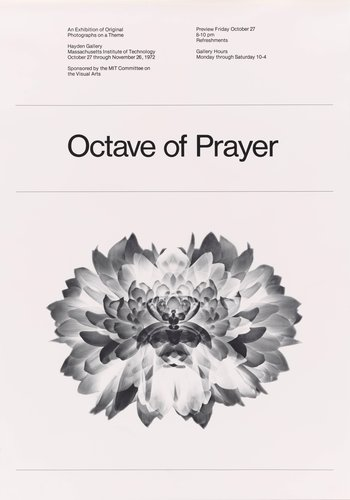 Poster for Octave of Prayer, Massachusetts Institute of Technology