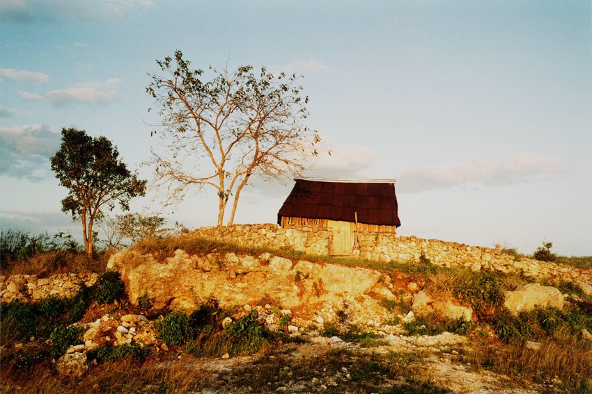 image of 'Three Sections of Time, #1 Hoctún, Yucatan, Mexico 1994'