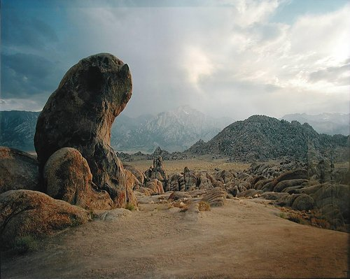 Gene Autry Rock, Alabama Hills, California