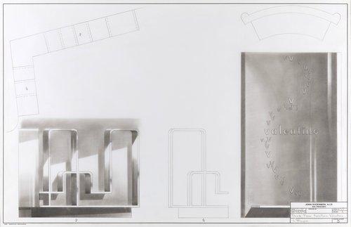 Third floor furniture for Valentino Salon, I. Magnin