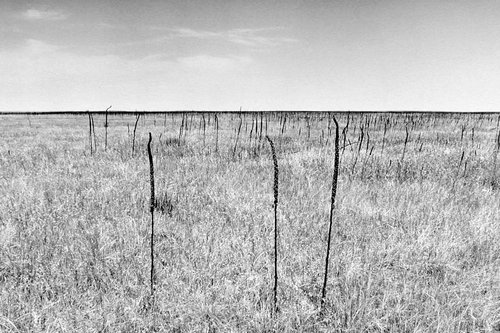 Ghost Dance Site in the Badlands, Pine Ridge Reservation, South Dakota, from the series Sweet Medicine