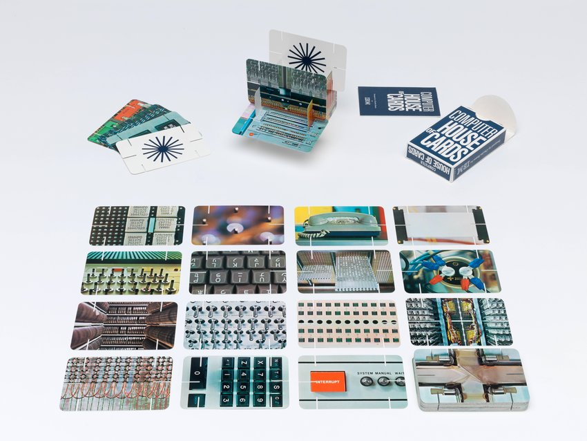 image of 'Computer House of Cards for the IBM Pavilion at the World's Fair, Osaka'