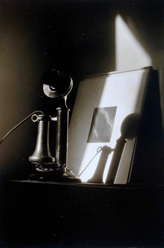 An American Place – Telephone and Alfred Stieglitz Equivalent
