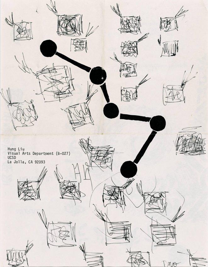 image of Hung Liu Drawing