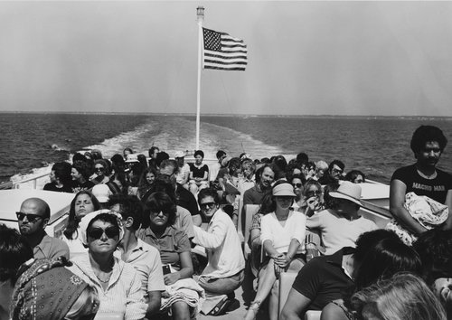 Ferry to Nantucket, Massachusetts, from the portfolio Leisure