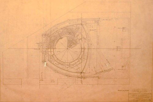 Theatre Building for Consolidated Theatres Inc., San Francisco, California (Ceiling Plan)