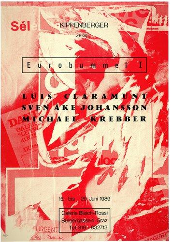 Eurobummel I (Euro-Stroll I), from the portfolio Mut zum Druck (Courage to Print)