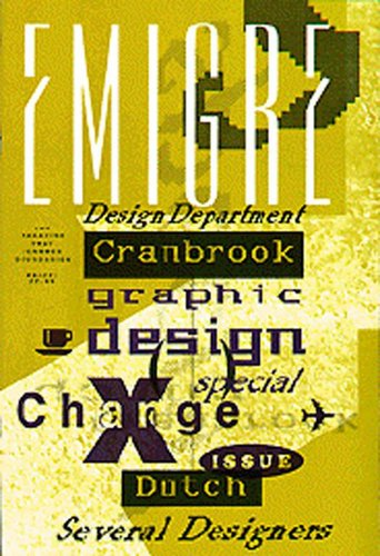Emigre magazine, no.10 (X-Change)
