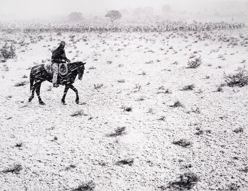 Cowboy, Arizona, from Portfolio Two: Twelve Photographs by Pirkle Jones