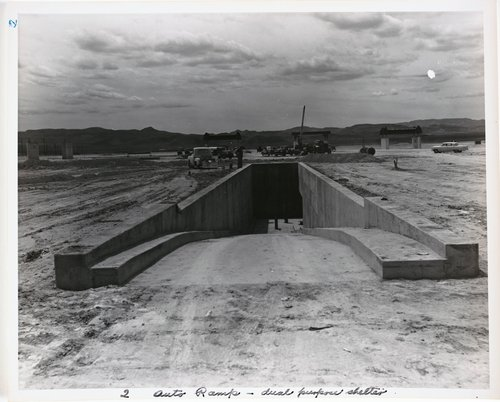 Atomic Tests in Nevada [Auto ramp - dual purpose shelter]