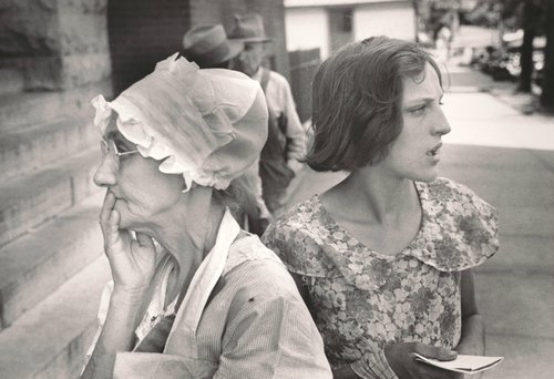 Waiting Outside the Relief Station, Urbana, Ohio