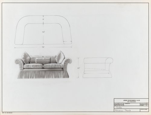 Sofa for Eleanor Ford