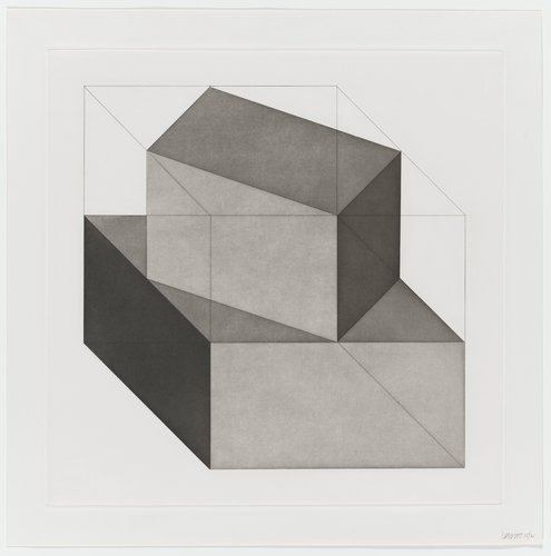 Forms Derived from a Cube, Plate #15