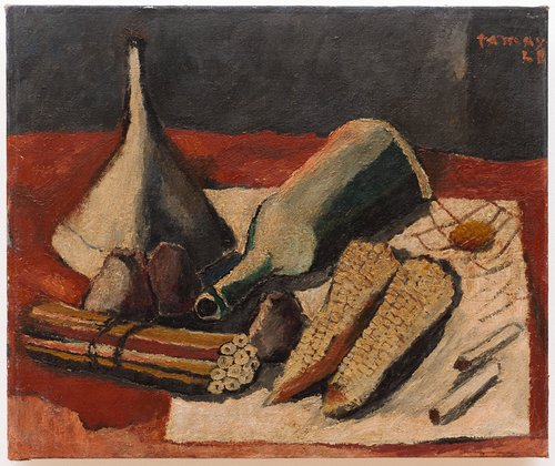 Still Life with Corn