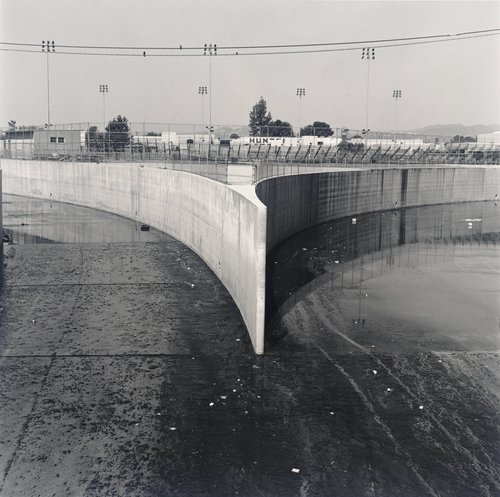 Owensmouth Ave. near Vanowen, Canoga Park, from the series The Los Angeles River