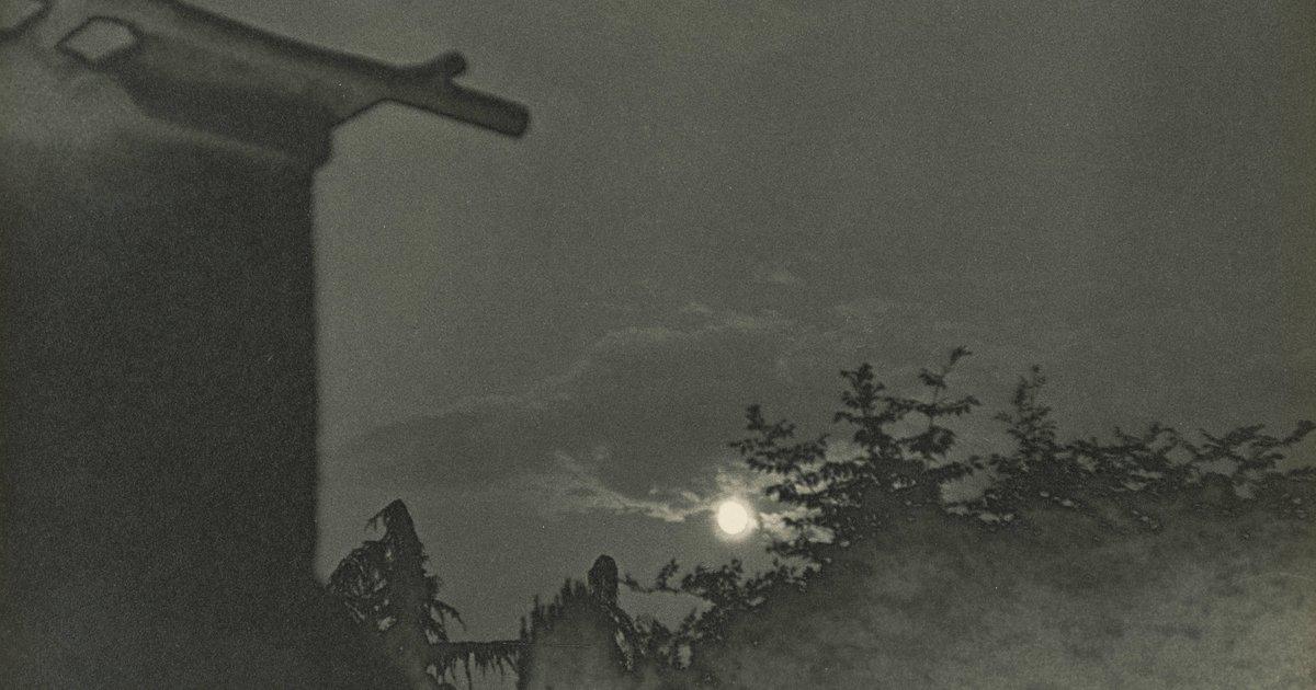 Ilse Bing, Full Moon In Cureglia, Switzerland, 1934 · SFMOMA