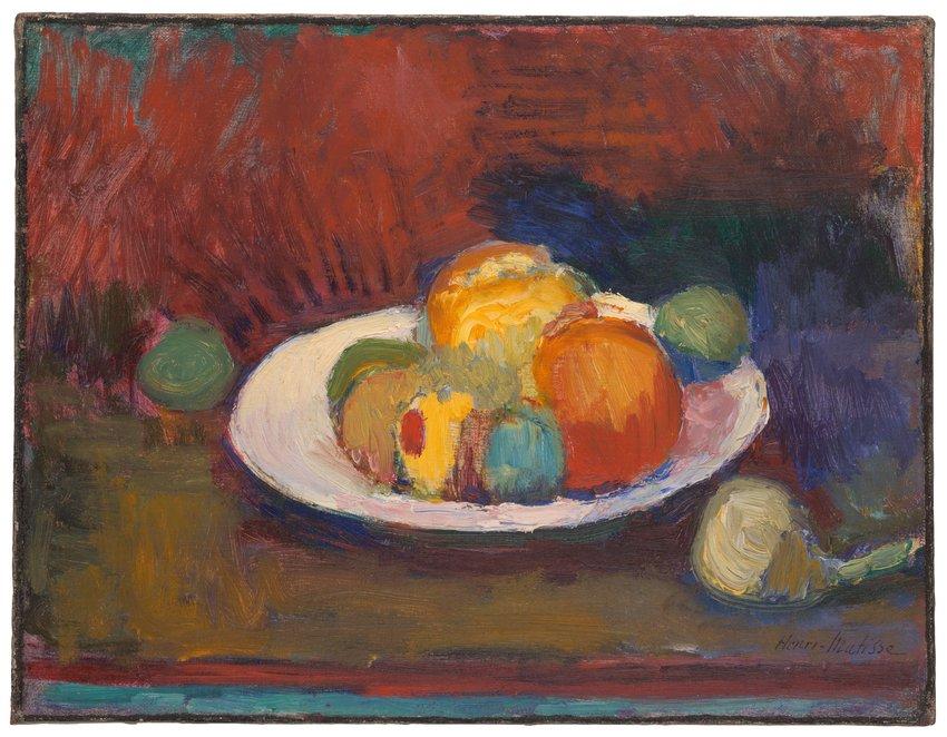 image of 'Assiette de fruits (Fruit Dish)'
