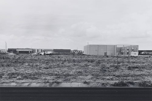 Jamboree Road, between Beckman and Richter Avenues, looking Northwest, from the portfolio The New Industrial Parks near Irvine, California