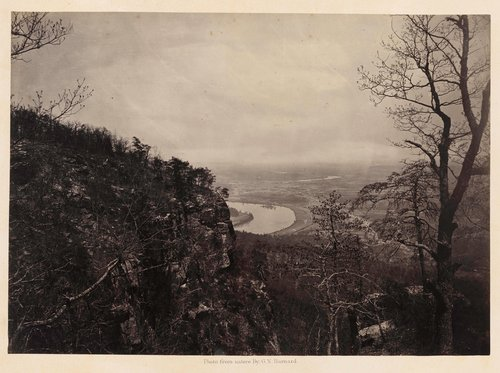 Chattanooga Valley from Lookout Mountain, No. 2, from Photographic Views of Sherman's Campaign