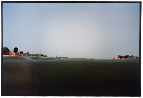 Iwasehama, from the series half awake and half asleep in the water