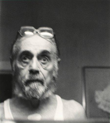Self-Portrait with Nitro-Patch, New York
