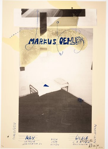 Markus Oehlen, from the portfolio Mut zum Druck (Courage to Print)