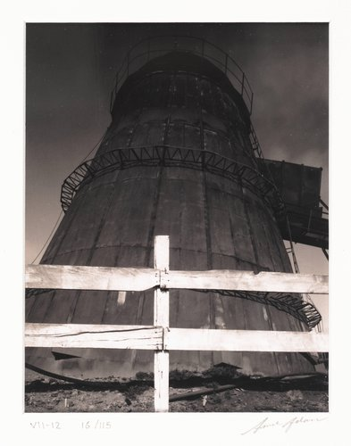 Lumber Mill Incinerator, Bodega, California, from Portfolio VII